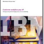 Customer analytics pay off