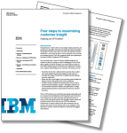 Fours steps to maximising customer insight