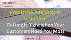 Predictive Analytics in Insurance
