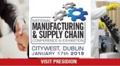Manufacturing & Supply Chain Conference and Exhibition - 17th January, Dublin
