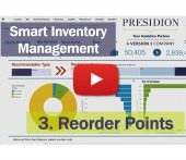 Smart Inventory Management Overview - 3. Reorder Points